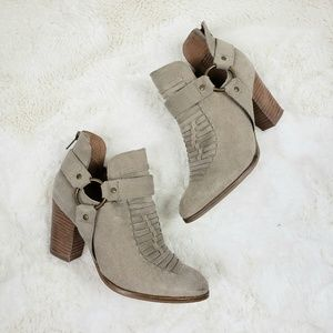 Seychelles Leather Impossible Ankle booties